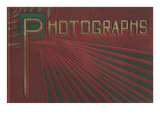 Embossed Photo Album Cover Posters
