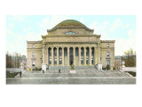 Library, Columbia University, New York City Prints