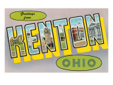 Greetings from Kenton, Ohio Prints