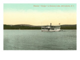 Steamer on Schroon Lake, Adirondacks, New York Prints