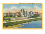 Medical Center, Henry Hudson Parkway, New York City Prints