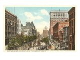 Fountain Square, Cincinnati, Ohio Prints