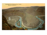 Horseshoe Curve, Deschutes River, Oregon Prints