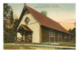 Saranac Inn Chapel, Saranac Lake, New York Posters