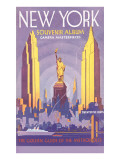 New York Souvenir Album Plakater
