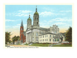 St. Peter's Church, Mansfield, Ohio Print