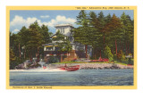 Kincaid Residence, Thousand Islands, New York Prints