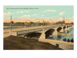 Washington Street Bridge, Dayton, Ohio Posters