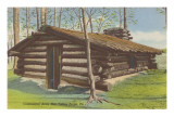 Continental Army Hut, Valley Forge, Pennsylvania Prints