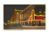 Night, Center Street, Reno, Nevada Prints