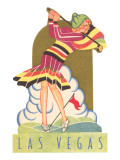 Lady Golfer in Las Vegas, Nevada Posters