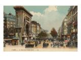 Boulevard St. Denis, Paris Prints