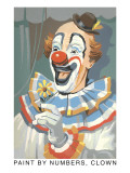 Paint by Numbers, Clown Prints