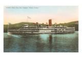 Hudson River Steamer, New York Prints