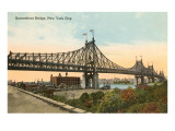 Queensboro Bridge, New York City Prints