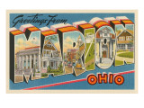 Greetings from Marion, Ohio Posters
