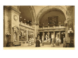Statuary Hall, Metropolitan Museum, New York City Poster