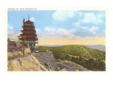 Pagoda, Mt. Penn, Reading, Pennsylvania Prints