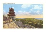 Pagoda, Mt. Penn, Reading, Pennsylvania Posters