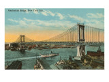 Manhattan Bridge, New York City Prints