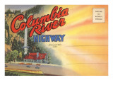Postcard Folder, Columbia River Highway Poster