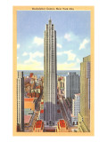 Rockefeller Center, New York City Prints