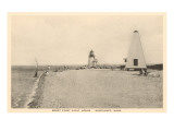Brant Point Lighthouse, Nantucket, Massachusetts Print