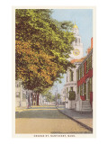 Orange Street, Nantucket, Massachusetts Poster