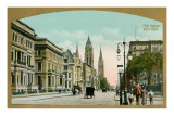 Vintage Fifth Avenue, New York City Prints