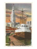 Waterfront, Cleveland, Ohio Prints