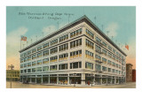Olds Wortmen and King Department Store, Portland, Oregon Print