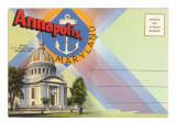Postcard Folder, Annapolis, Maryland Prints