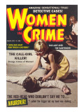 Women in Crime Posters