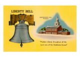 Liberty Bell, Independence Hall, Philadelphia, Pennsylvania Posters