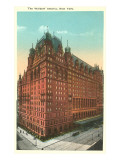 Waldorf-Astoria Hotel, New York City Prints