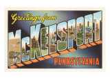 Greetings from McKeesport, Pennsylvania Art
