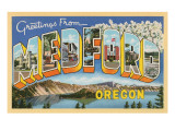Greetings from Medord, Oregon Art