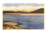 Sacandaga-Reservoir, Northville, New York Giclée-Premiumdruck