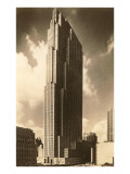 Rockefeller Center, New York City Print