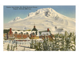 Timberline Lodge, Mt. Hood, Oregon Print
