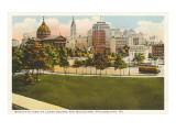 Logan Square, Skyline, Philadelphia, Pennsylvania Print