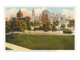 Logan Square, Skyline, Philadelphia, Pennsylvania Print