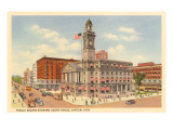 Courthouse, Canton, Ohio Posters