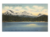 Three Sisters and Mirror Lake, Oregon Prints