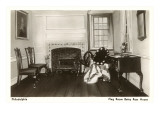 Interior, Betsy Ross House, Philadelphia, Pennsylvania Posters
