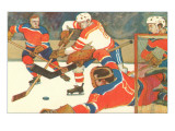 Ice Hockey Game Prints