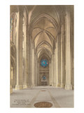 Interior, St. John the Divine, New York City Prints