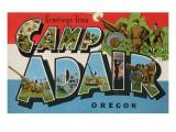 Greetings from Camp Adair, Oregon Posters