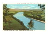 Sullivan Trail, Athens, Sayre, Pennsylvania Poster