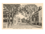 Center Street, Nantucket, Massachusetts Posters
